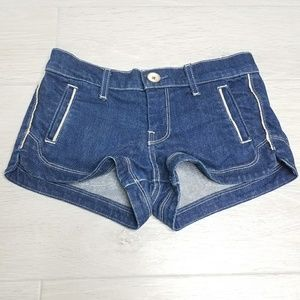 •7 FOR ALL MANKIND• Denim Shorts.